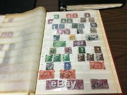 Ireland Stamp Collection in Albums! Estate Sale Find! Must See! 100+ Pics