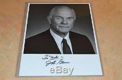John Glenn Signed (to Mike) Photo! Must See