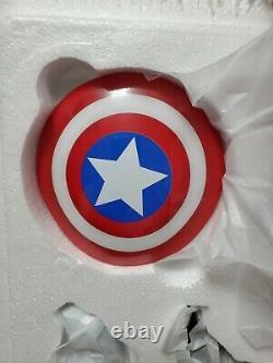 Kotobukiya Captain America Fine Art Statue Avengers New! Must See
