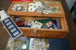 LARGE COIN & PAPER MONEY COLLECTION! 1,000's OF COINS! MUST SEE