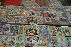 Large 1970's Football Card Collection! Around 2000 Cards! Must See