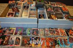 Large Basketball Card Collection! Rookies, Inserts, Etc! Must See