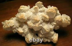 Large Georgeous Quartz with Calcite Plate from Dalnegorsk, Russia Must See
