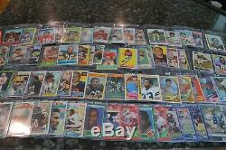 Large Hall Of Fame Football Rookie Card Collection! Must See