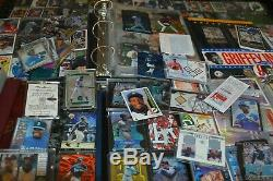 Large Ken Griffey Jr. Card Collection! Must See