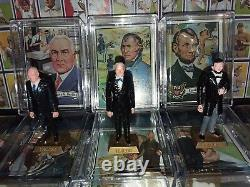 Lot 15 1972 Topps Presidents Marx Toy Figure Statues Abe Lincoln Must See Tphlc