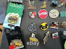Lot of 50+ Disney Collector Trading Pins, Collector Owned, Must See Pics