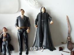Lovely Collection Of Harry Potter Action Figures Bundle Vg Condition Must See