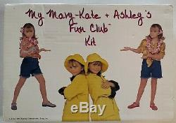 MASSIVE Vintage Mary Kate Ashley Olsen Fan Club Kit Collection in Box MUST SEE