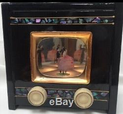 MUST SEE Exquisite Rare 1950's Musical Jewellery Box