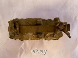 Magnificent 1900's French Bronze Children Playing Letter Holder'must See