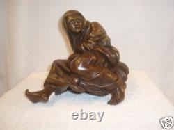 Magnificent Pair of 19th c Orientalism French Bronze Figurines, must see
