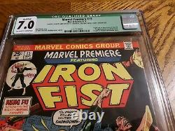 Marvel premiere #15 Cgc 7.0 F VF Presents Extremely Well Must See Pictures
