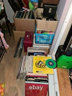 Massive Joblot Of Mixed Records collectable rare vinyl lp bundle must see cheap