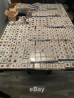 Massive Lifelong Coin Collection! No Reserve! Must SEE