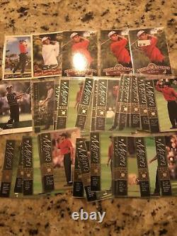 Massive Tiger Woods Collection 127 cards With Rookie Inserts! MUST SEE