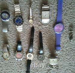 Massive watch collection including tools, spares, batteries, and more. Must see