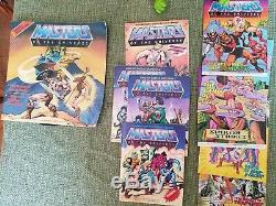 Masters of the Universe Collection All original 56 Figures, Castle Must See