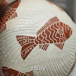 Mata Ortiz Leonel Lopez Saenz Pottery MUST SEE