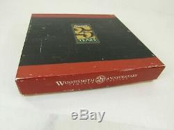 Mib Woodsmith 3 Square Set 25th Anniversary Set Must See T5564 Bridge City Tool