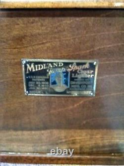 Midland Jump Spark Cigar Lighter Mint Mint Piece W Tons Of Extras Must See All