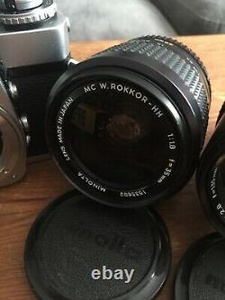 Minolta XE-1 X2 Collection with 35mm F1.8 Plus, Must see