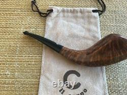Mint! IL Ceppo Horn Shaped Pipe, Awesome Birdseye, Must See