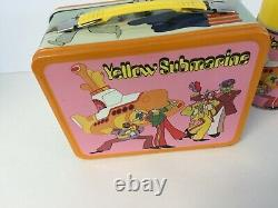 Mint Nos 1968 Beatles Yellow Submarine Lunchbox And Thermos, Must See To Believe
