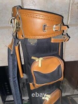 Mizuno Golf COUNTRY CLUB COLLECTION Savannah Series K1 BAG Brown Tan Must See