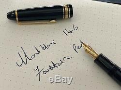Montblanc Meisterstuck 146 Fountain Pen Great Condition, Must See