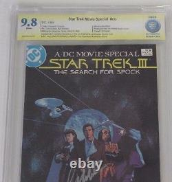 Must See! CBCS Star Trek III NN, 1984, Graded 9.8! Signed Shatner and Lloyd