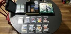 Must See! Magic The Gathering Cards Collection With Graded Cards & Lots Of Foil