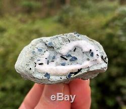 Must See! Rare Benitoite Crystals with Neptunite & Joaquinite, Dallas Gem Mine