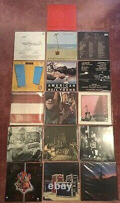NEIL YOUNG JOBLOT VINYL LPs (16 ALBUMS FROM MY COLLECTION). SUPERB! MUST SEE