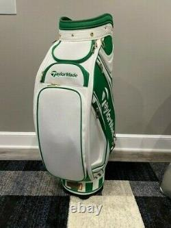 NEW TaylorMade Masters Major Collection Staff Bag (2017) Azalea Pattern MUST SEE