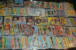 NICE 1950's-60's BASEBALL CARD COLLECTION! OVER 200 CARDS! MUST SEE