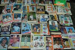 NICE ROOKIE BASEBALL CARD COLLECTION FROM 1969-1980's! MUST SEE
