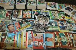 NICE VINTAGE 1950's-1970's BASEBALL & FOOTBALL CARD COLLECTION! MUST SEE