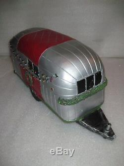 New 24 Plaster Vintage Airstream Decorated Christmas Trailer Must See