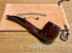 New, Unsmoked! Dunhill Chestnut, Group 4, Bent Bulldog Pipe, Must See