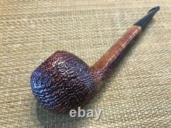 New, Unsmoked Mario Pascucci Pipe, Sandblasted Briar, Must See