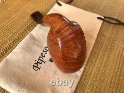 New, Unsmoked! Viprati Pipe, 4 Clovers Grade, Giant Freehand Pipe, Must See