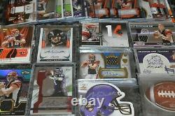 Nice Andy Dalton Rookie Auto Game Used Football Card Collection! Must See