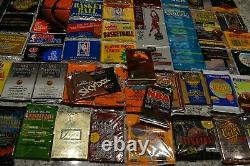 Nice Basketball Wax Pack Collection! Must See