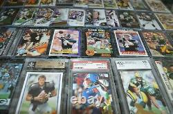 Nice Brett Favre Football Card Collection! Must See