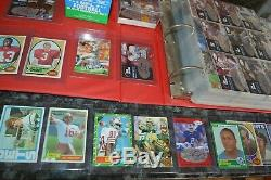 Nice Football Card Collection! Must See! Joe Montana Rookie, Rice Rc, Etc