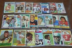 Nice Football Hall Of Fame Rookie Card Collection! Must See