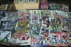 Nice Football Rookie & Star Card Collection! Must See
