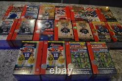 Nice Football Wax Pack Box Collection! 18 Factory Sealed Boxes! Must See