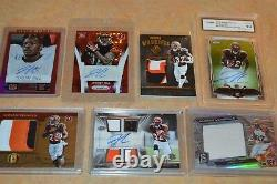 Nice Jeremy Hill Rookie Card Collection! All Relic & Auto's Cards! Must See